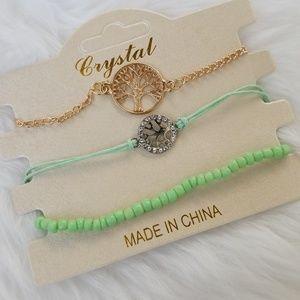 Sold out Green bracelet set